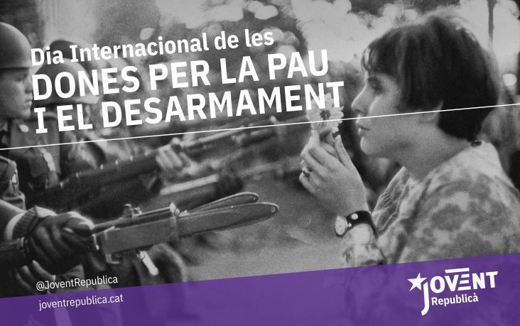 24 de maig, dia internacional de les dones per la pau i el desarmament