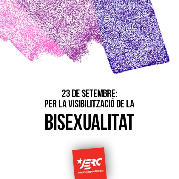Per la visibilització de la bisexualitat!