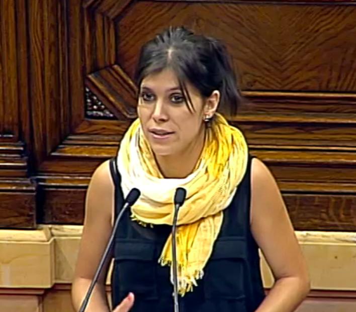 Marta Vilalta al Parlament