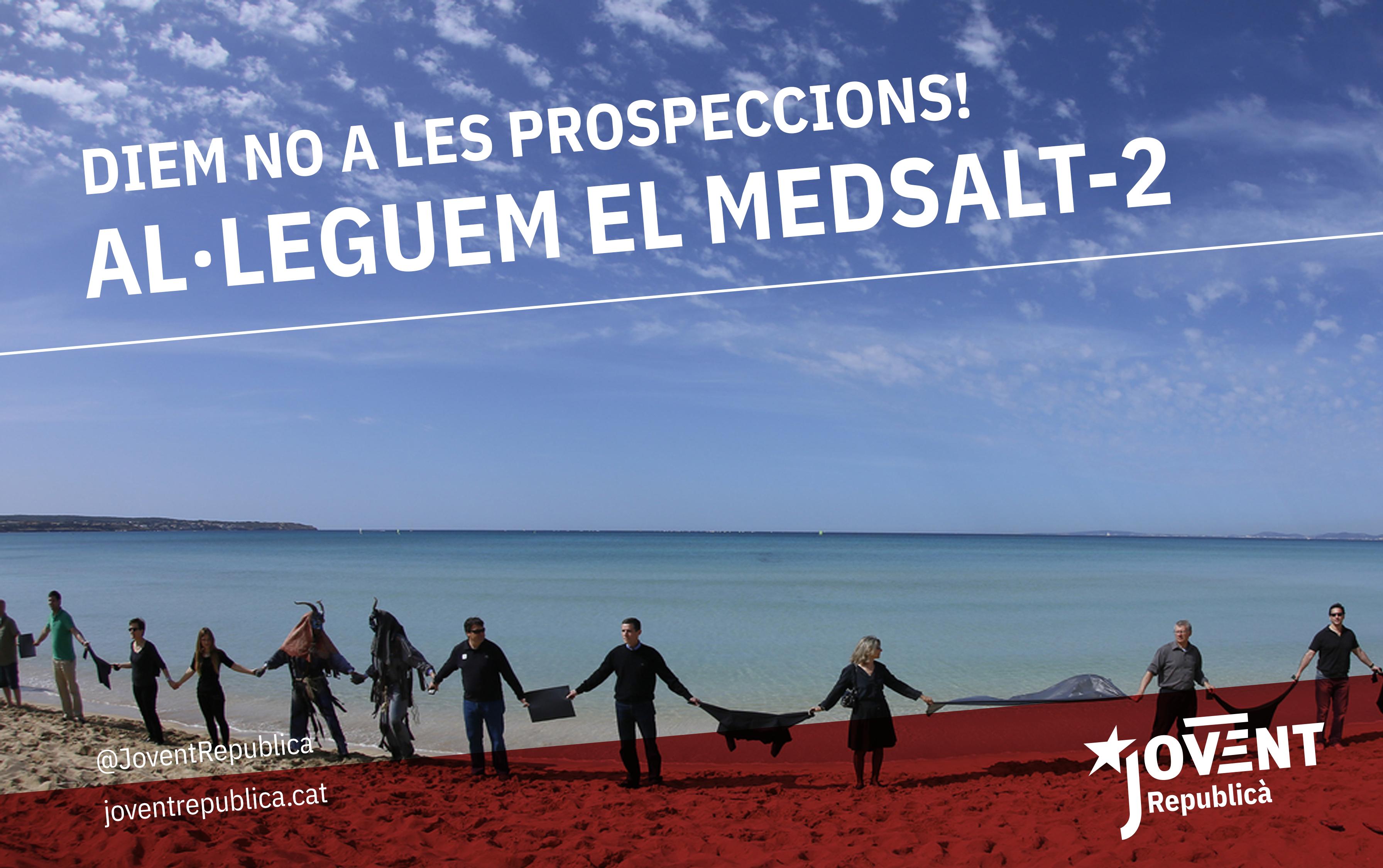 Instruccions per presentar al·legacions al projecte de prospeccions petrolieres MEDSALT-2