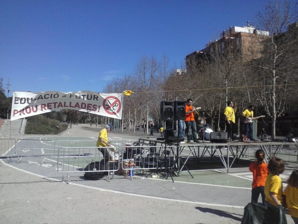 Diada de l'Educació Pública de Mataró (10 de març de 2013)
